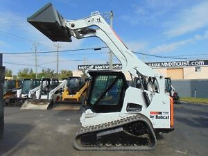2012 Bobcat T 750 Turbo 2 Speed Wide Track Air Conditioned Cab Keyless Start