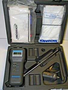 Bacharach Electronic Gas Analyzer Monoxor Ii