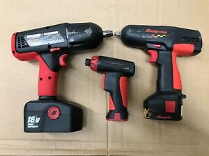 Snap on Cordless Impact Driver Set
