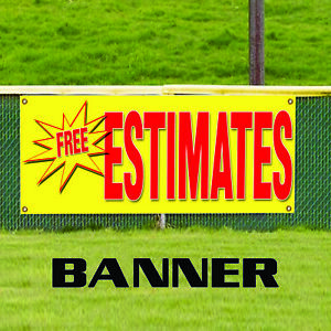 Free Estimates Auto Information Specifications Outdoor Vinyl Banner Sign