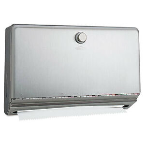 Surface mounted Paper Towel Dispenser Stainless Steel 10 3 4 X 4 X 7 1 8 2621