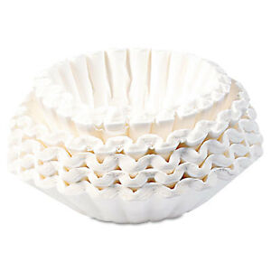 Flat Bottom Coffee Filters Paper 12 cup Size Bcf250ct 1 Each