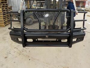 Ranch Style Heavy Duty Front Bumper Chevy 1500 2014 2015 2016 2017 2018 Bb110c