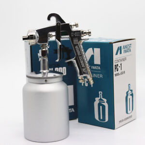 Anest Iwata W 200s Spray Gun New Car Paint Tool Pistol 400cc Cup