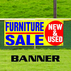 Furniture Sale New Used Business Promotion Outdoor Vinyl Banner Sign