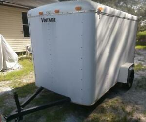 6x10 Enclosed Cargo Box Utility Trailer
