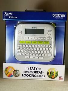 New Brother P touch Pt d210 Label Maker P touch Easy Compact Label M