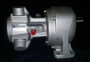 Taiyo Utam4 010 Radial Piston Air Motor With Gtr Gearbox