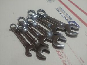 Craftsman Professional Stubby 6 Pc Metric Combination Wrench Set