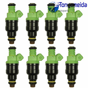 Fuel Injectors 42lb 440cc Ev1 Set 8 For Gm Lt1 Ls1 Ls6 Ford Mustang Sohc Dohc