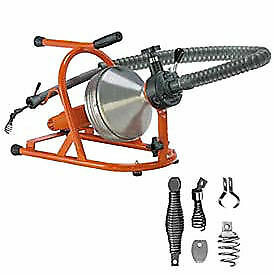 General Wire Drain rooter Ph Drain sewer Cleaning Machine W 50 X 5 16 Cable