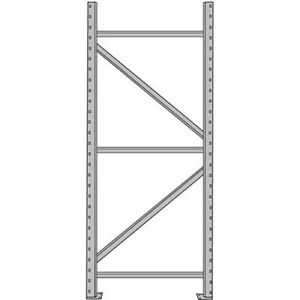 Steel King Upright Frame For Boltless Pallet Racks 42x96 Lot Of 1