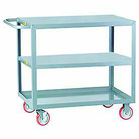 Little Giant All Welded Service Cart 3 Flush Top Middle 18 X 32 Lot Of 1