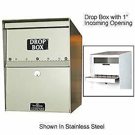 Jayco Standard Drop Box Locker 2 Incoming Slot No Envelope Slot Tan Lot Of 1