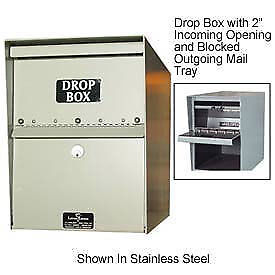 Jayco Standard Drop Box Locker 1 Incoming Slot And Envelope Slot Tan Lot Of 1