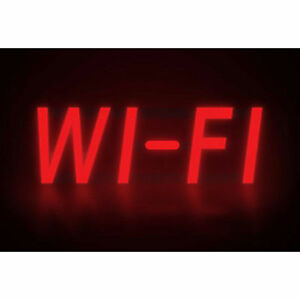 Mystiglo Wi fi Led Sign 17 w X 5 h Lot Of 1