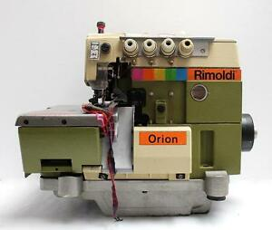 Rimoldi 629 Orion 2 needle 5 thread Overlock Industrial Sewing Machine Head Only