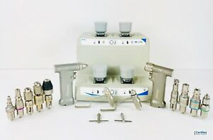 Conmed Hall M Power Surgical Drill Set W Pro6400 Pro6200 Battery Charger more
