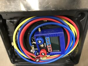 Mastercool Ml99872 a 72 Digital Manifold Set With Vechicle Specific Data