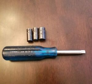 Cornwell Tools 1 4 Drive Nut Driver 3 Socket Set