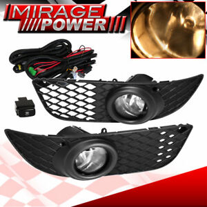 2008 2012 Mitsubishi Lancer Bumper Driving Clear Fog Light Upgrade Replacement