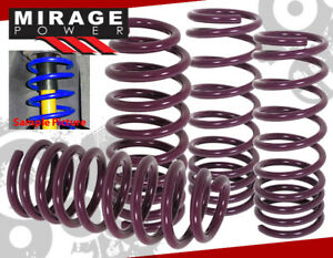 2008 2011 Honda Accord Lx Dx Ex L4 V6 Lowering Suspension Spring Purple