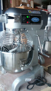 General Gem120 Commercial 20 Quart Standing Mixer With Timer