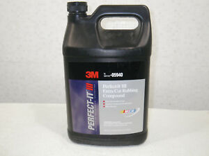 3m Perfect it Iii Extra Cut Rubbing Compound 05940 gallon the Strongest Paste