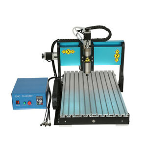Nzl 110v 1500w 4 Axis Cnc 6040 Router Engraving Milling Machine Parallel Port