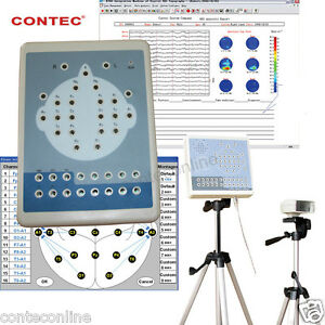 Contec Kt88 1016 16 Channels Digital Eeg Ekg Mapping System record software