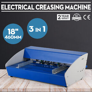 3in1 Paper 18 460mm Electrical Creasing Machine Creaser Scorer Perforator