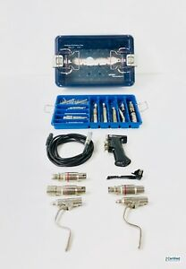 Stryker Core Complete Surgical Drill Set With Drills Attachments Tray 5400