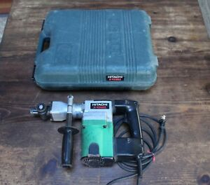 Hitachi Demolition Hammer Drill Model H 45sb2 Made In Japan Case Works Well