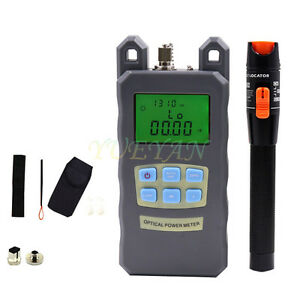 Fiber Optical Power Meter 10mv Visual Fault Locator Fiber Optic Cable Tester V10