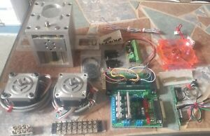 Cnc Full Stepper Motor And Driver Course Manuals And Hardware 2 Axis Kit