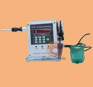 New 220v 0 03 1 8mm Computer Controlled Coil Transformer Winder Winding Machine