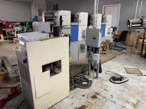 Ryobi Press 3304h Press 4 Color With Chiller And Plate Punch