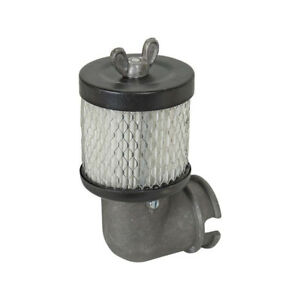 Model A Ford Air Maze For Tillotson Carburetor With Modern Paper Filter For