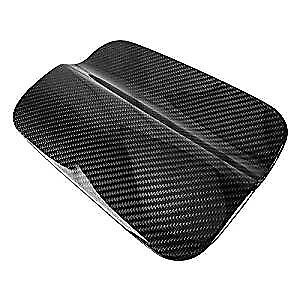Gloss Black Carbon Fiber Gas Door Fuel Tank Cover Overlay For 14 18 Bmw F82 M4