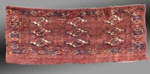 Yomut Turkmen Torba 19th Century Central Asia 1 3 X 3 3 Free Shipping