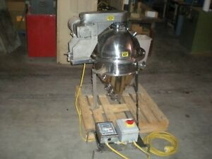 Groen 1e 372 r3v Stainless Steel Pressure Tank flash Chamber With Mixer 480vac