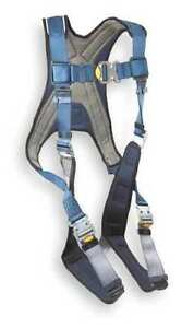 Dbi sala 1107981 Full Body Harness Size Xl 420 Lb Blue gray Awesome