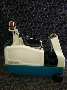 Tennant 6100 Ride On Floor Sweeper With Free Shipping