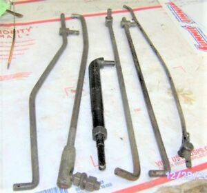 1968 78 327 350 302 307 396 402 427 Chevy Carb Linkages clutch Arm gm Orig Lot