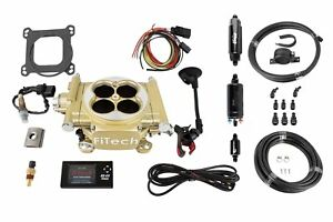 Fitech Fuel Injection 31005 Easy Street Efi Throttle Body System Kit 600 Hp Clas