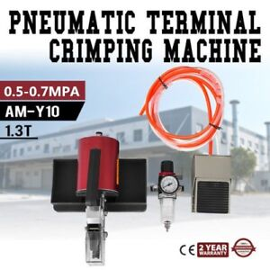 Am y10 Pneumatic Terminal Crimping Machine Crimping Machine 1 3t 0 5 0 7mpa