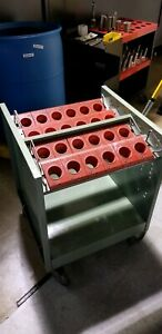 Lista Cat 50 cat 40 Tool Holder Cart Rack Vgc huot kennedy Ballbearingwheels