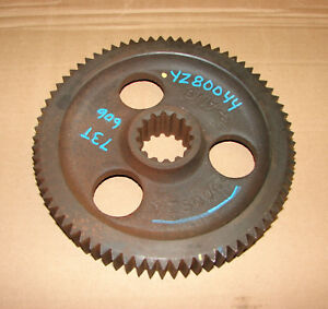Yz80044 Yz81393 John Deere 4300 4400 4210 4310 4410 4200 Rear Axle Gear