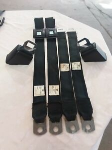 1968 1969 1970 Gto Chevelle Judge Seat Belts 442 Gsx W 30 W 31 Ram Air Iv 455 Ho