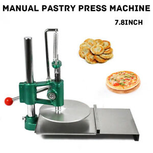 20cm 7 8 Stainless Steel Household Pizza Dough Pastry Manual Press Machine
